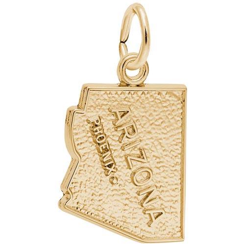 14K Gold Phoenix Arizona Charm by Rembrandt Charms