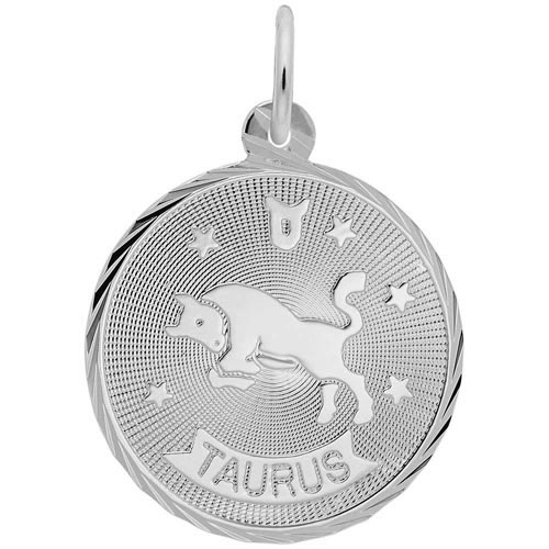 Sterling Silver Taurus Constellation Charm by Rembrandt Charms