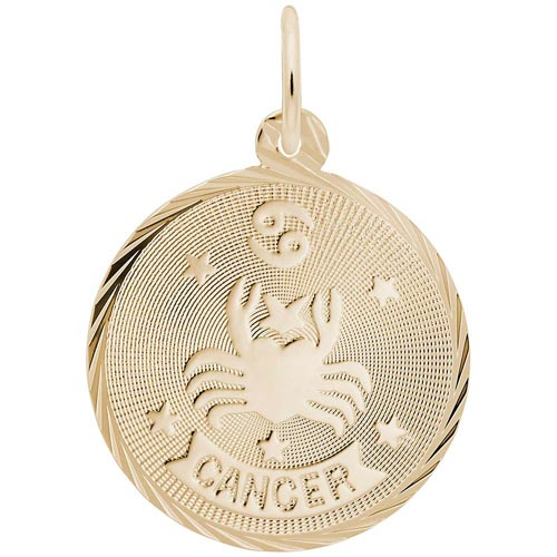 14K Gold Cancer Constellation Charm by Rembrandt Charms