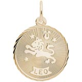 10K Gold Leo Constellation Charm by Rembrandt Charms