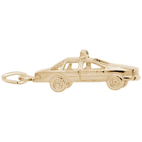 14K Gold Taxi Cab Charm by Rembrandt Charms
