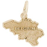 Gold Plated Belgium Charm by Rembrandt Charms