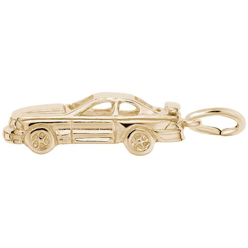 10k Gold Muscle Car Charm by Rembrandt Charms