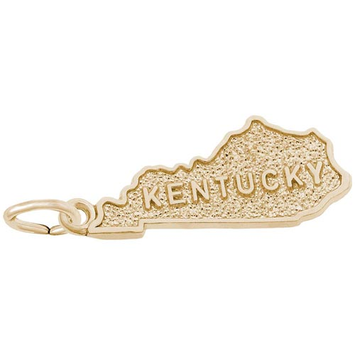 14K Gold Kentucky Charm by Rembrandt Charms
