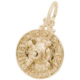 14K Gold Roulette Wheel Charm by Rembrandt Charms