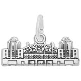 14K White Gold Navy Pier Charm by Rembrandt Charms