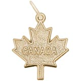 14k Gold Canada Maple Leaf by Rembrandt Charms