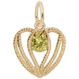 14K Gold Held in Love Heart - 11 Nov