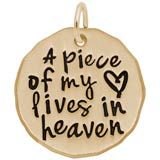 A Piece of My Heart Charm