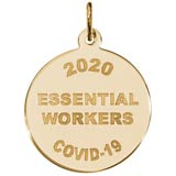 14K Gold COVID-19 Essential Workers