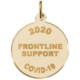 14K Gold COVID-19 Frontline Support
