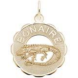 Gold Plate Bonaire Charm