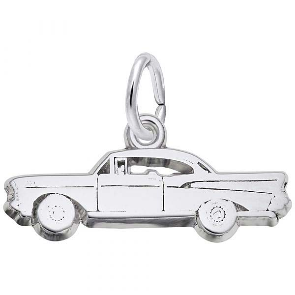 Sterling Silver Hardtop Muscle Car Charm by Rembrandt Charms